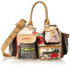 Desigual London Clean Folk Shoulder Bag,Vanilla,One Size List Price:$104.00 Sale Price $56.74 & FREE Shipping. Can be shipped to locations outside US at additional cost
