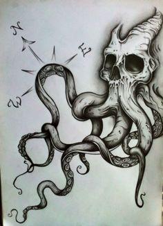 ~Koponya ~Polip ~Skull ~Octopus