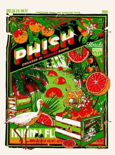 PHISH by Tyler Stout Dec 28, 29, 30, 31 2009 / Miami - Now tell me, can your favorite band sell out 4 nights in a row...?