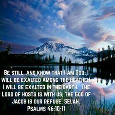 Psalms 46:10-11 (KJV)