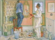 My Friends the Carpenter and the Painter 1909