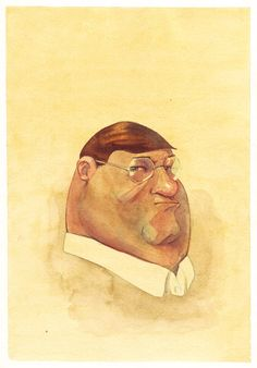 Peter Griffen in water color