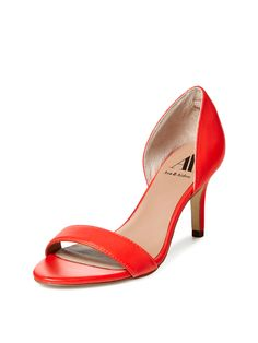 Harper Two Piece Mid Heel Sandal from Step Into Sandal Season on Gilt