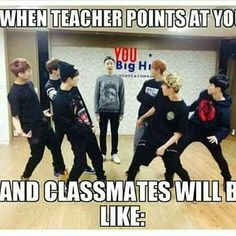 I hate that.. and it happened during a crowded lecture room, the lecture wanted someone to answer and said looking at me 'that girl looking up at the ceiling' and my inner voice was like 'fuck' XD