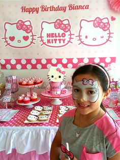 """Photo 11 of 22: Hello Kitty / Birthday """"Hello Kitty Party for Bianca"""" 
