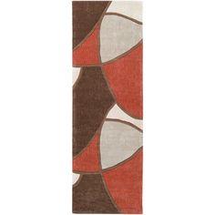Surya Sawyer Brown/Rust Rug Rug Size: