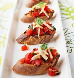 Here are some of our favorite ways to use fresh tomatoes in appetizers, side dishes, main dishes, salads, pastas and pizzas.