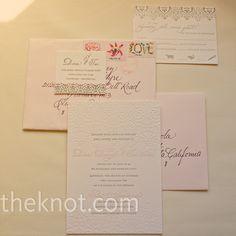 I like the pink envelopes!!