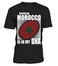 # Supporting Morocco .  Supporting Morocco Is In My DNA. Available in various colors and styles.Get yours today.