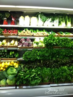 Juicing 101:  Several tips to help make juicing faster and easier.