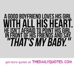 boyfriend quotes | Good Boyfriend……… | The Daily Quotes