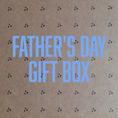 Our special Father's Day Gift Box features FOUR different handmade goods from all over the South. THREE usable goods plus ONE box of tasty treats. Only 100 gift boxes available. Ships June 15, so reserve yours for Dad today!