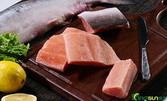 Pink salmon from Kingsun. https://www.facebook.com/frozenseafood.biz/ For seafood, please contact Kingsun (service@kingsunfoods.com)
