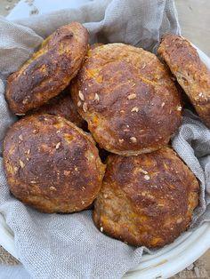 Bread Bun, Breakfast Cookies, Easy Healthy Breakfast, Lchf, Meal Prep, Muffins, Recipies, Low Carb, Gluten Free