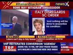Italy won't send marine back #BreakingOnNewsX #NewsX