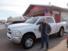 Congratulations to Ricky Ervin on his purchase of a new Dodge Ram! A BIG thanks from the Auto Group! We really appreciate the opportunity to earn your business and hope you enjoy your new truck!