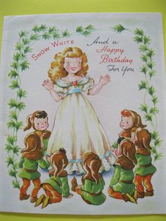Snow White Fairytale Greeting
