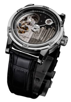 Second model of Louis Moinet's Mecanograph City Limited Editions is the Mecanograph Qatar. Qatar's capital city Doha skyline gets the honor after Dream Watches, Luxury Watches, Cool Watches, Watches For Men, Men's Watches, Latest Watches, G Shock, Doha Skyline, Moda Masculina