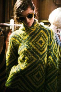 Decorialab knitwear Studio www.decorialab.com — (via Dries Van Noten AW14 | Dazed)