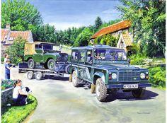 Land Rover Defender y Land Rover Serie I