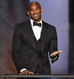 OMG, GORGEOUS!!! Kobe Bryant, speaking at the 'American Film Institute's 44th…