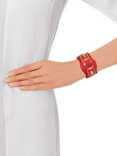 Balenciaga Bracelet, Lace Cuffs, Studded Leather, Vintage Lace, Silver Plate, Women Wear, Luxury, Metal, Bracelets