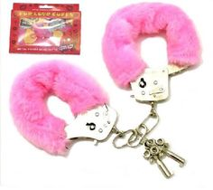 Fur Love handcuffs - Single Lock (Pink)
