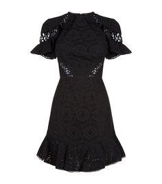 Helm Circles Flutter Mini Dress - $667