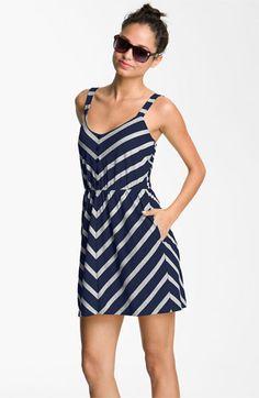 Wide Strap Tank Dress