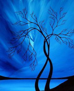 Shocking Blue Tree