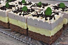 Pizza kornoutky se šunkou a sýrem Czech Recipes, Ethnic Recipes, Cake Bars, Mini Cheesecakes, Kaja, Tiramisu, Pudding, Bread, Food And Drink