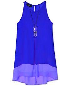 BCX Girls' Colorblocked Shift Dress
