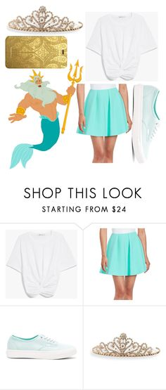 """""""King Triton"""" by kaitlyn-ashby101 ❤ liked on Polyvore featuring Disney, Likely, Vans, BillyTheTree and Christian Lacroix"""