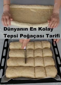 Turkish Recipes, Hot Dog Buns, Tea Time, Bakery, Food And Drink, Cooking Recipes, Bread, Cheese, Vegan