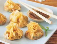 Thai Dumplings with Dipping Sauce Recipe | Vegetarian Times