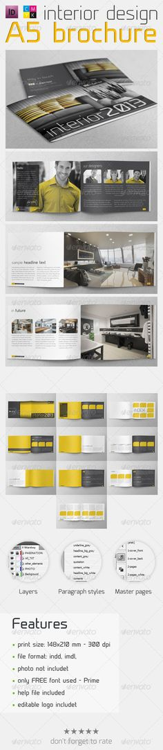 Interior Design Brochure - Informational Brochures