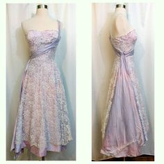 Pink and Purple Lace Galaxy Princess Dress with Star Shaped Purple Lace, Prom Dresses, Formal Dresses, Retro Outfits, Star Shape, Girls Dream, Vintage Dresses, Sequins, Trending Outfits