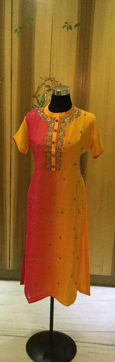 Dual dye tunic by cliffangel