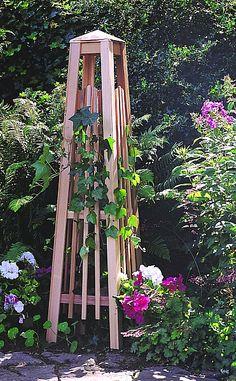 corner trellis ideas | Arbors and Trellises Bring Warmth to Your Garden