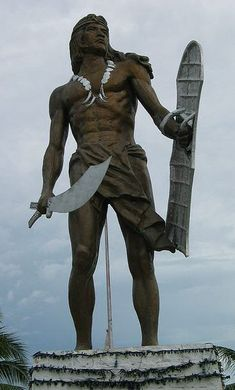 Lapu Lapu Statue - MyFMA.net - Filipino Martial Arts Network