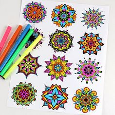 Psicopedagogia Salvador: Mandalas para imprimir e colorir