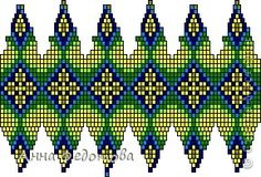 00000000 (289x196, 84Kb) Crochet Rope, Tapestry Crochet, Bead Crochet, Beaded Beads, Beads And Wire, Beaded Ornament Covers, Beaded Ornaments, Seed Bead Flowers, Beaded Flowers