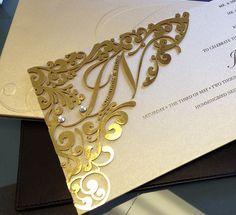 Royal Wedding Invitation, Wedding Invitation Samples, Laser Cut Wedding Invitations, Beautiful Wedding Invitations, Invites, Wedding Themes, Our Wedding, Hindu Wedding Cards, Wedding Greetings