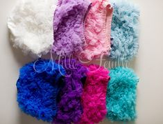 newborn baby diaper cover chiffon ruffles  by MilleFeuilleBoutique, $120.00
