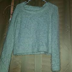 Fuzzy Sweater Fuzzy Sweater LA Hearts Sweaters
