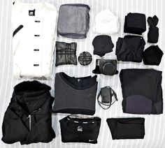 "novaohara: ""Minimal packing for two weeks in Seoul. """