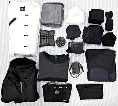 "novaohara: ""Minimal packing for two weeks in Seoul. """