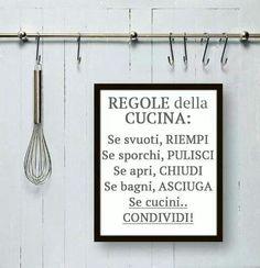 Regole della cucina