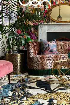 Maximalist Interior, Home And Deco, Eclectic Decor, House Colors, Interior Inspiration, Living Spaces, House Design, Design Design, Interior Design