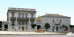 Home - Athens City Museum Bauhaus, Neoclassical, Greece, Traditional, Mansions, House Styles, City, Building, Art Deco